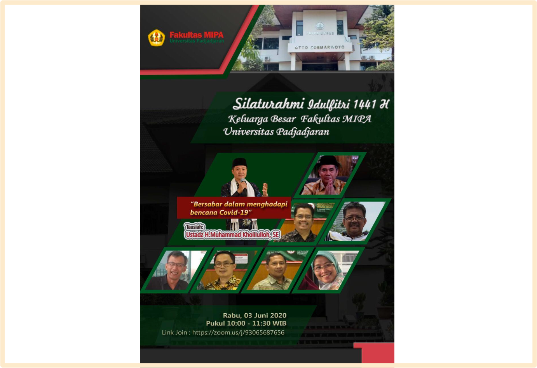 Silaturahmi Idul Fitri 1441 H, FMIPA UNPAD