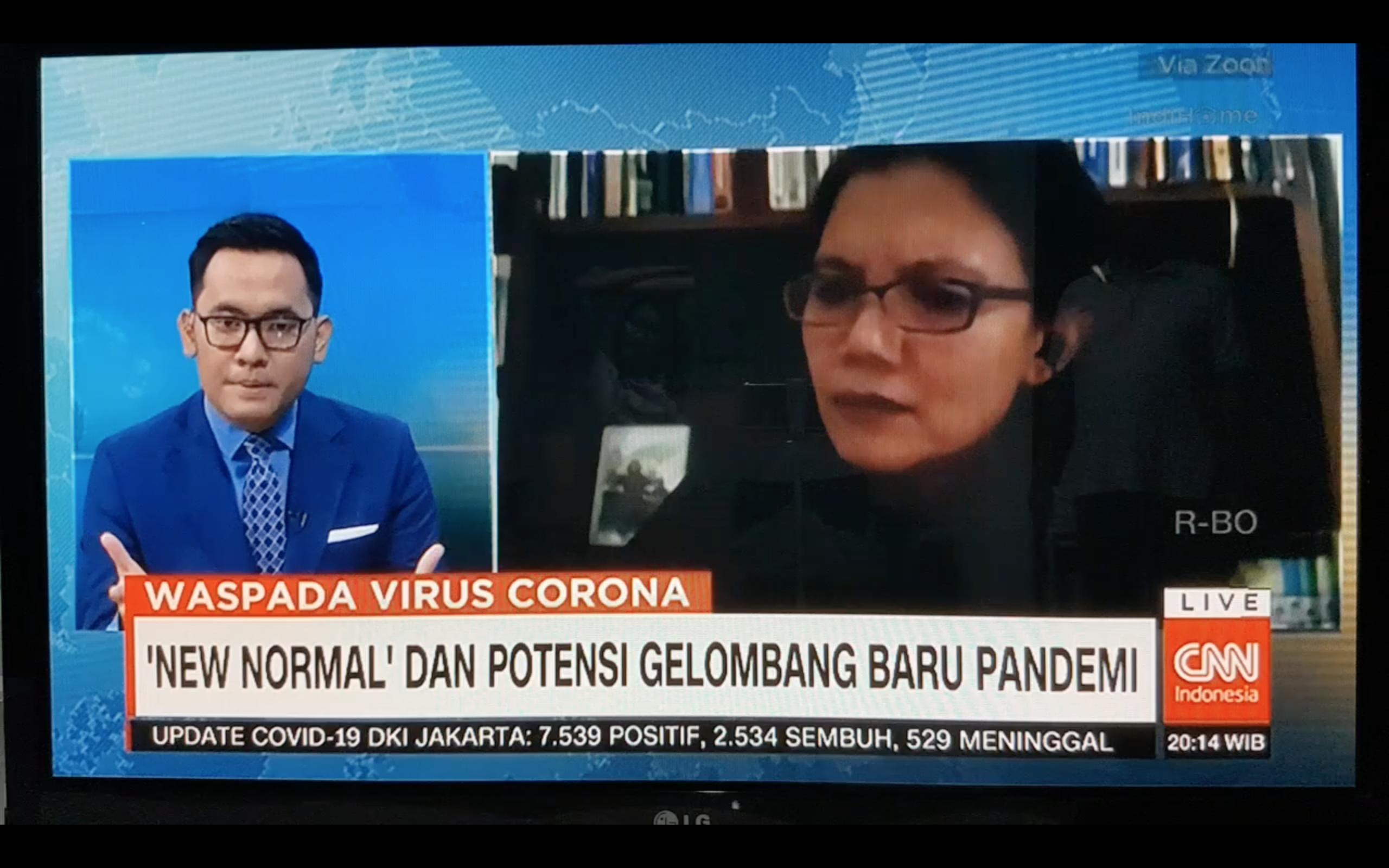 'New Normal' Pada Masa Pandemi Covid- 19 Menurut Dr. Mia Miranti