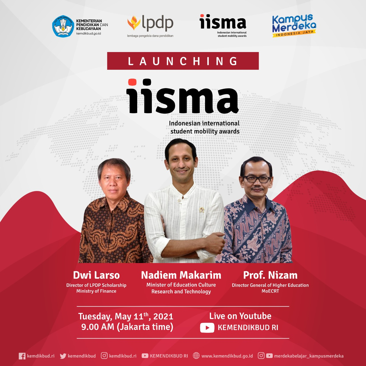 Call For Students-Indonesian Intenational Student Mobility Awards (IISMA) 2021